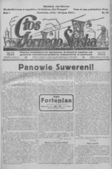 Głos Górnego Śląska, 1927, R. 7, nr 55
