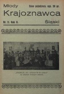 Młody Krajoznawca Śląski, 1935, R. 2, nr 11