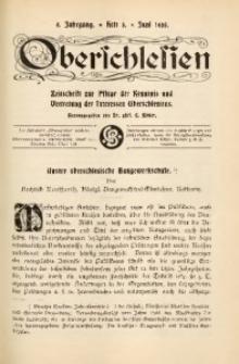 Oberschlesien, 1905, Jg. 4, H. 3