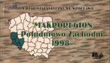Makroregion Południowo-Zachodni, 1998