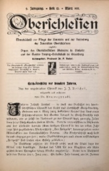 Oberschlesien, 1911, Jg. 9, H. 12