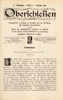 Oberschlesien, 1914, Jg. 12, H. 11