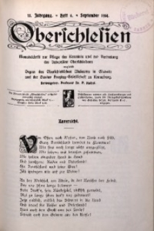 Oberschlesien, 1914, Jg. 13, H. 6