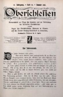 Oberschlesien, 1915, Jg. 13, H. 10