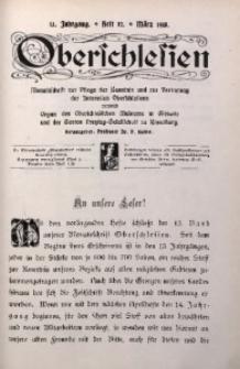 Oberschlesien, 1915, Jg. 13, H. 12
