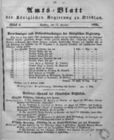 Amts-Blatt der Königlichen Regierung zu Breslau, 1859, Bd. 50, St. 6