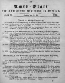 Amts-Blatt der Königlichen Regierung zu Breslau, 1859, Bd. 50, St. 29