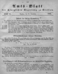 Amts-Blatt der Königlichen Regierung zu Breslau, 1859, Bd. 50, St. 46