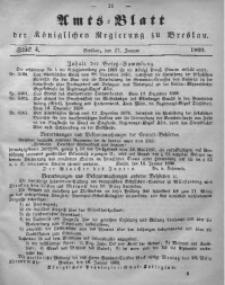 Amts-Blatt der Königlichen Regierung zu Breslau, 1860, Bd. 51, St. 4