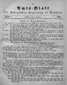 Amts-Blatt der Königlichen Regierung zu Breslau, 1860, Bd. 51, St. 5