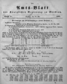 Amts-Blatt der Königlichen Regierung zu Breslau, 1860, Bd. 51, St. 21