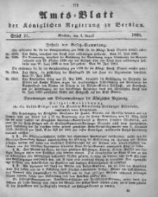 Amts-Blatt der Königlichen Regierung zu Breslau, 1860, Bd. 51, St. 31