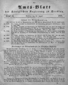 Amts-Blatt der Königlichen Regierung zu Breslau, 1860, Bd. 51, St. 32