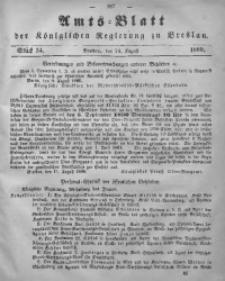 Amts-Blatt der Königlichen Regierung zu Breslau, 1860, Bd. 51, St. 34
