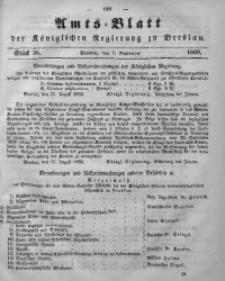 Amts-Blatt der Königlichen Regierung zu Breslau, 1860, Bd. 51, St. 36