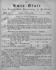 Amts-Blatt der Königlichen Regierung zu Breslau, 1860, Bd. 51, St. 52