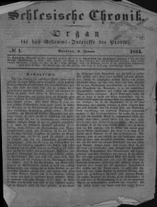 Schlesische Chronik, 1844, nr 1-103