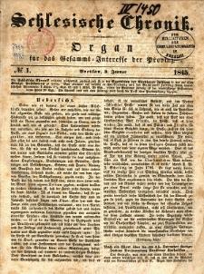 Schlesische Chronik, 1845, nr 1-103