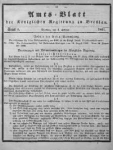 Amts-Blatt der Königlichen Regierung zu Breslau, 1861, Bd. 52, St. 5