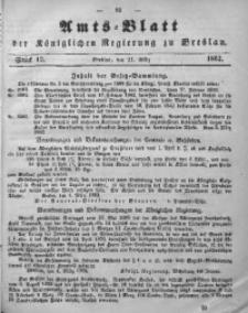 Amts-Blatt der Königlichen Regierung zu Breslau, 1862, Bd. 53, St. 12