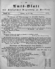 Amts-Blatt der Königlichen Regierung zu Breslau, 1862, Bd. 53, St. 21