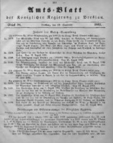 Amts-Blatt der Königlichen Regierung zu Breslau, 1862, Bd. 53, St. 38