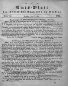 Amts-Blatt der Königlichen Regierung zu Breslau, 1864, Bd. 55, St. 22