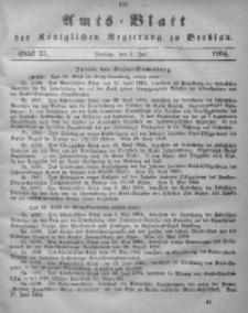 Amts-Blatt der Königlichen Regierung zu Breslau, 1864, Bd. 55, St. 27