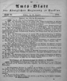Amts-Blatt der Königlichen Regierung zu Breslau, 1864, Bd. 55, St. 52