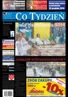 Co Tydzień Jaworzno, 2014, R.24, nr51 (1213)