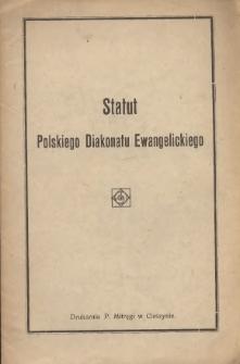 Statut Polskiego Diakonatu Ewangelickiego