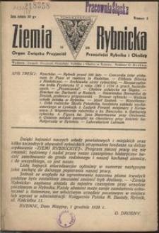 Ziemia Rybnicka, 1939, [R. 2], nr 4