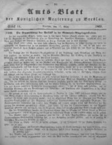 Amts-Blatt der Königlichen Regierung zu Breslau, 1865, Bd. 56, St. 11