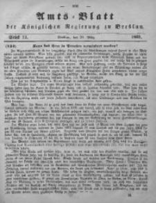 Amts-Blatt der Königlichen Regierung zu Breslau, 1865, Bd. 56, St. 13