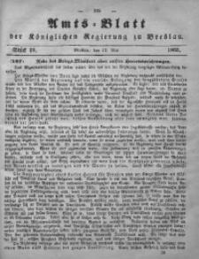 Amts-Blatt der Königlichen Regierung zu Breslau, 1865, Bd. 56, St. 19