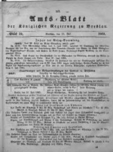 Amts-Blatt der Königlichen Regierung zu Breslau, 1865, Bd. 56, St. 29