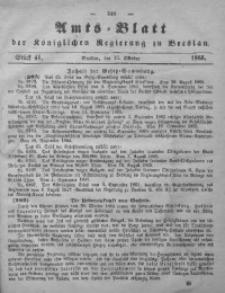 Amts-Blatt der Königlichen Regierung zu Breslau, 1865, Bd. 56, St. 41