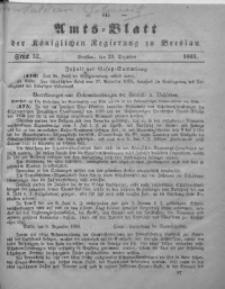 Amts-Blatt der Königlichen Regierung zu Breslau, 1865, Bd. 56, St. 52