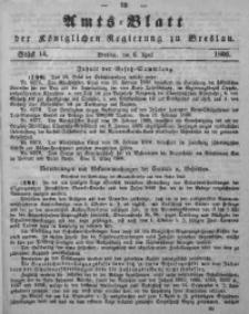 Amts-Blatt der Königlichen Regierung zu Breslau, 1866, Bd. 57, St. 14
