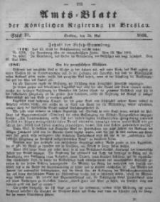 Amts-Blatt der Königlichen Regierung zu Breslau, 1866, Bd. 57, St. 21
