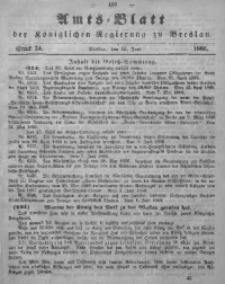 Amts-Blatt der Königlichen Regierung zu Breslau, 1866, Bd. 57, St. 24