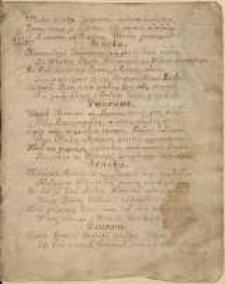 Rozmowa Seneki z Gwarantem. Tragedia pierwsza ; Lament nad Koroną Polską w Barze Die 10 Junij 1768 A[nno]