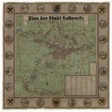 Plan der Stadt Kattowitz