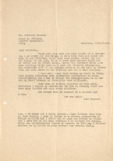 Kopia listu Jerzego Kukuczki do Reinholda Messnera, 2 V 1988