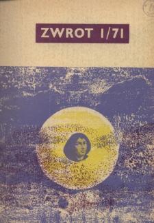 Zwrot, R. 23 (1971), Nry 1-12