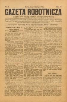 Gazeta Robotnicza, 1895, R. 5, nr 6
