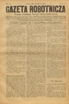 Gazeta Robotnicza, 1895, R. 5, nr 12
