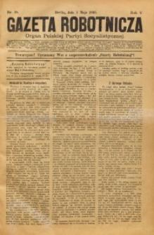 Gazeta Robotnicza, 1895, R. 5, nr 18