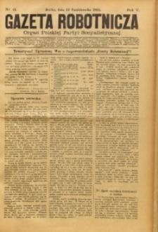 Gazeta Robotnicza, 1895, R. 5, nr 41
