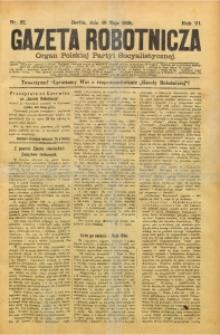 Gazeta Robotnicza, 1896, R. 6, nr 22